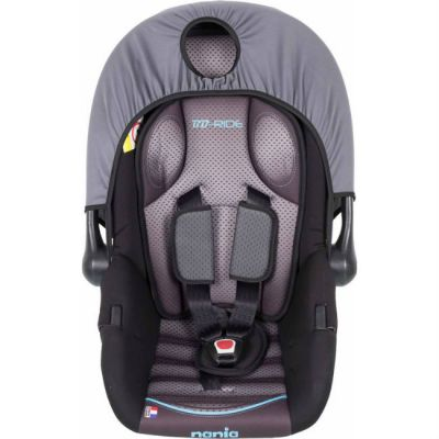 Детское автокресло Nania Baby Ride FST (graphic itech) от 0 до 13 кг (0/0+) серый 373075