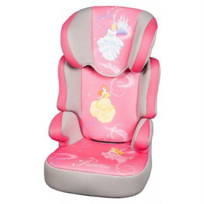 Детское автокресло Nania Disney Befix SP (princess) от 15 до 36 кг (2/3) розовый/серый 743260