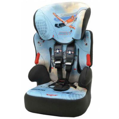Детское автокресло Nania Disney Beline SP (Planes) от 9 до 36 кг (1/2/3) голубой/черный 293182