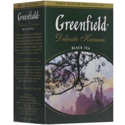 Чай Greenfield Delicate Keemun 100г. чай лист.черн. 0465-16