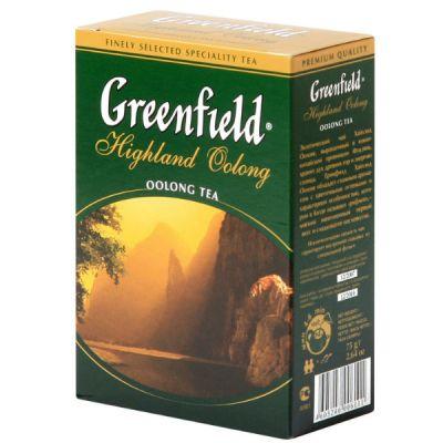 Чай Greenfield Хайлэнд Оолонг 75г. чай лист.оолонг 0611-18