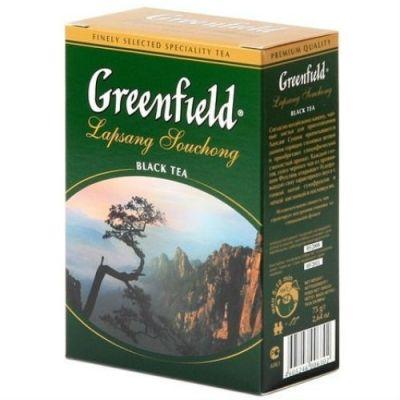 Чай Greenfield Лапсанг Сушонг 75г. чай лист.черн. 0630-18
