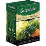 Чай Greenfield Тропикал Мавел 100г. чай лист.зел. с доб. 0718-15