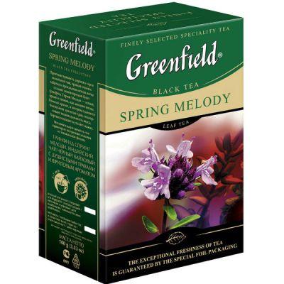 Чай Greenfield Спринг Мелоди 100г. чай лист.черн.с доб. 0717-15