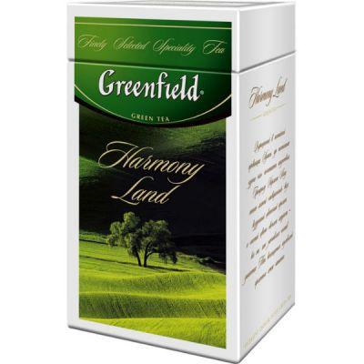 Чай Greenfield Хармони Лэнд 125г. чай лист.зел.в ж/б 1060-14