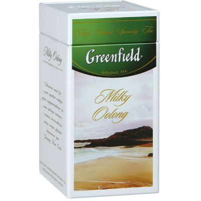 Чай Greenfield Милки Оолонг 125г. чай лист оолонг.с доб.в ж/б 1061-14