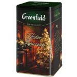 Чай Greenfield Фестив Импрешнс 150г. чай лист.черн.с доб.в ж/б 1079-12