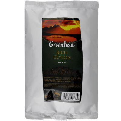 Чай Greenfield Рич Цейлон 250г. чай лист.черн.м/у ХРК 0973-15