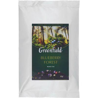 Чай Greenfield Блюберри Форест 250г. чай лист.черн.с доб.м/у ХРК 0977-15
