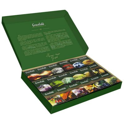 Чай Greenfield Набор превосходного чая 18 видов чай лист.770г. 1032-06