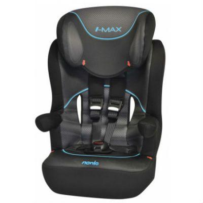 Детское автокресло Nania I-Max SP (graphic i-tech) от 9 до 36 кг (1/2/3) черный/серый 903075