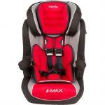Детское автокресло Nania Imax SP LX (agora carmin) от 9 до 36 кг (1/2/3) красный/серый 923129