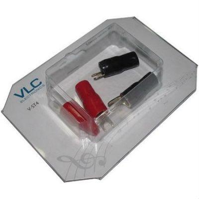 VLC Electronics клемма «вилка», 4 AWG (4 шт) V-ST4
