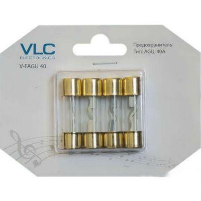 VLC Electronics AGU предохранитель,40A (4 шт) V-FAGU 40