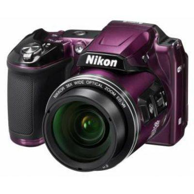 Компактный фотоаппарат Nikon CoolPix L840 (фиолетовый) VNA772E1