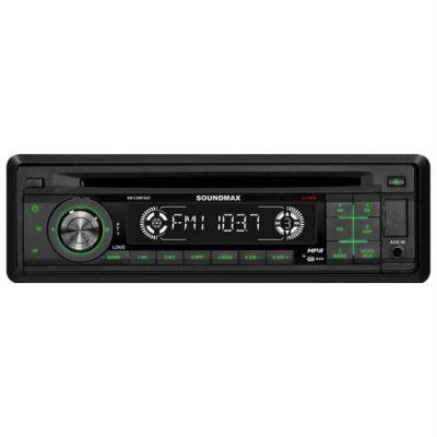 Автомагнитола Soundmax SM-CDM-1045 black/G