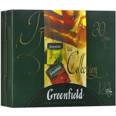 Чай Greenfield Набор изысканного чая и чай. нап.30 видов пак.213,2 1074-08