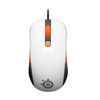 Мышь проводная SteelSeries Kana v2 white (6400dpi) USB Gaming (62262)