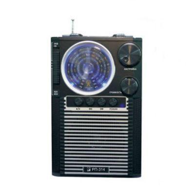 Сигнал радиоприемник портативный БЗРП РП-314 черный
