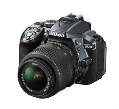 Зеркальный фотоаппарат Nikon D5300 Kit 18-55 VR II Grey VBA372K003