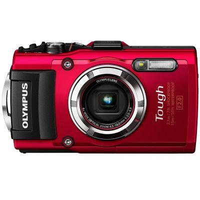 Компактный фотоаппарат Olympus Tough TG-3 red V104140RE000