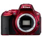 Зеркальный фотоаппарат Nikon D5500 Body красный VBA441AE