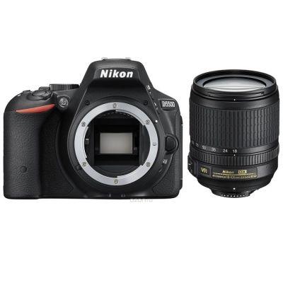 Зеркальный фотоаппарат Nikon D5500 Kit 18-105 VR II черный