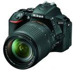Зеркальный фотоаппарат Nikon D5500 Kit 18-140 VR черный VBA440KR02