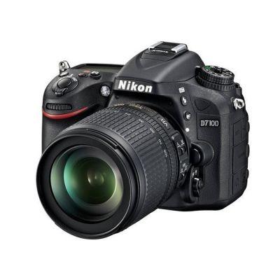 Зеркальный фотоаппарат Nikon D7100 18-140 VR черный VBA360K002