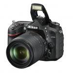Зеркальный фотоаппарат Nikon D7200 KIT 18-105VR черный VBA450K001