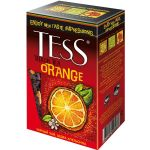 Чай TESS Оранж 100г.чай лист.черн.с доб. 0646-15