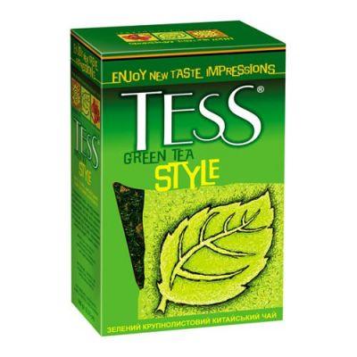 Чай TESS Стайл 100г.чай лист.зел. 0589-14