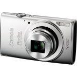 Компактный фотоаппарат Canon IXUS 170 серебристый 0128C001