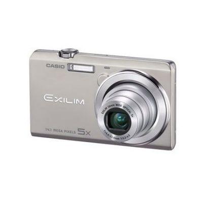 Компактный фотоаппарат Casio EXILIM EX-ZS10 серебристый EX-ZS10SRECA
