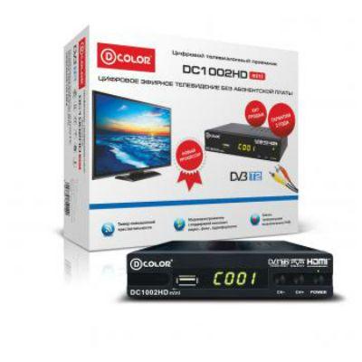 Ресивер D-Color DVB-T2 DC1002HD mini