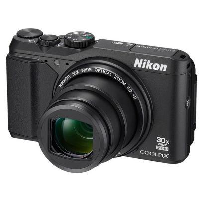Компактный фотоаппарат Nikon S9900 черный VNA790E1