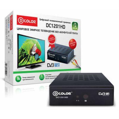 Ресивер D-Color DVB-T2 DC1201HD ECO