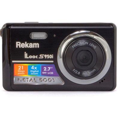Компактный фотоаппарат Rekam S950i черный 1108005095