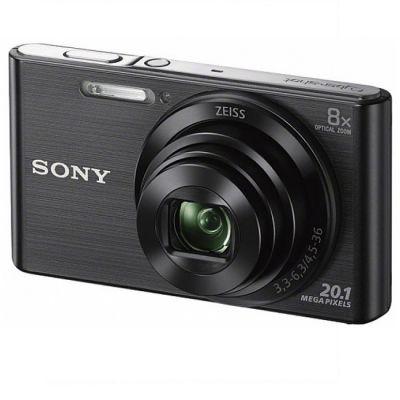 Компактный фотоаппарат Sony Cyber-shot DSC-W830 черный DSCW830B.RU3