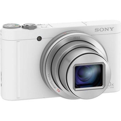 Компактный фотоаппарат Sony Cyber-shot DSC-WX500 белый DSCWX500W.RU3