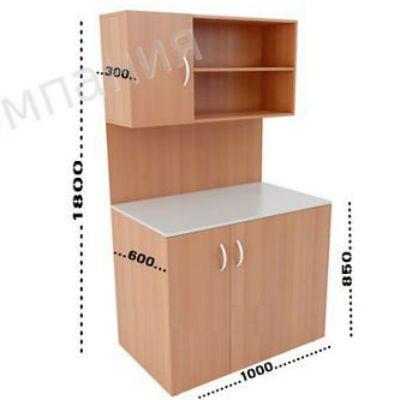 ПМК Мини-кухня Модель 4 1000х600(300)х1800(850)