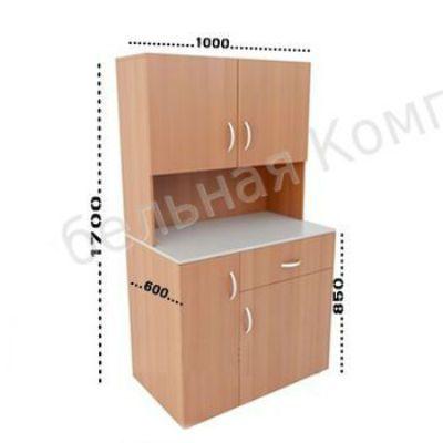 ПМК Мини-кухня Модель 3 1000х600х1700(850)