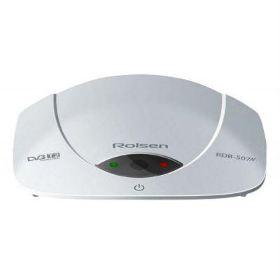 Ресивер Rolsen DVB-T2 RDB-507NW белый 1-RLDB-RDB-507NW