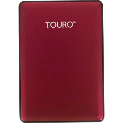 """Внешний жесткий диск HGTS HTOSEA10001BCB USB 3.0 1Tb Touro S (7200 об/мин) 2.5"""" красный 0S03779"""