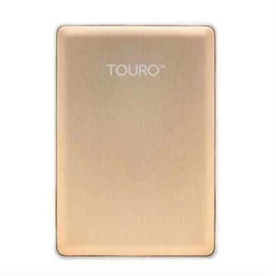"""Внешний жесткий диск HGTS HTOSEA10001BGB USB 3.0 1Tb Touro S (7200 об/мин) 2.5"""" золотистый 0S03754"""