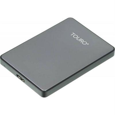 """Внешний жесткий диск HGTS HTOSEA10001BHB USB 3.0 1Tb Touro S (7200 об/мин) 2.5"""" серый 0S03695"""