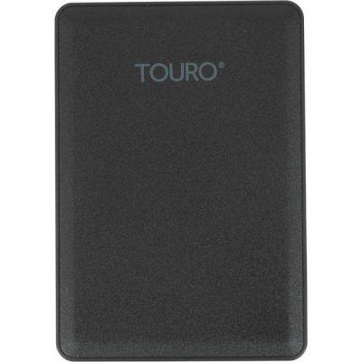 """Внешний жесткий диск HGTS HTOLMU3EA5001ABB USB 3.0 500Gb Touro Mobile (5400 об/мин) 2.5"""" черный 0S03797"""