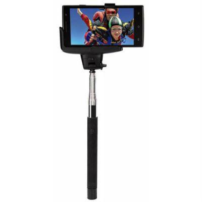 Hama Штатив монопод Moments 100 Selfie Bluetooth черный металл (180гр.) 139699