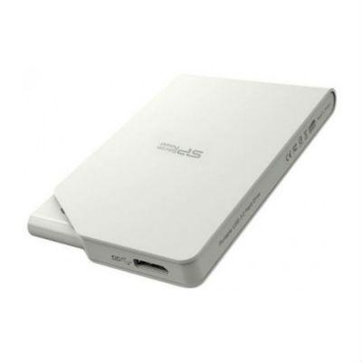 """Внешний жесткий диск Silicon Power USB 3.0 1Tb Stream S03 2.5"""" белый SP010TBPHDS03S3W"""