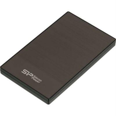"""Внешний жесткий диск Silicon Power USB 3.0 2Tb Diamond D05 2.5"""" серый SP020TBPHDD05S3T"""